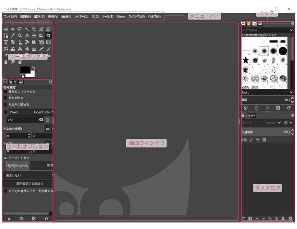 GIMPでの名刺作成