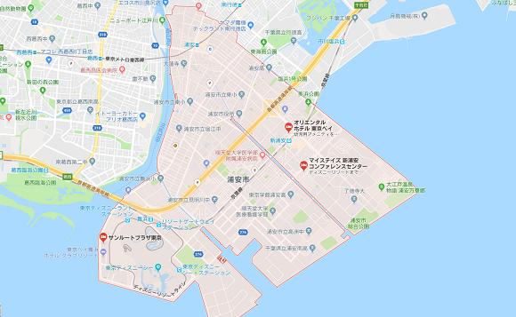 千葉県浦安市