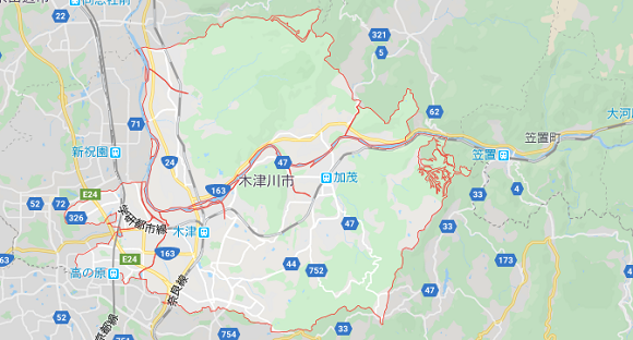 京都府木津川市