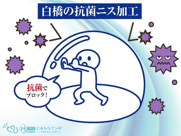 抗菌ニス加工